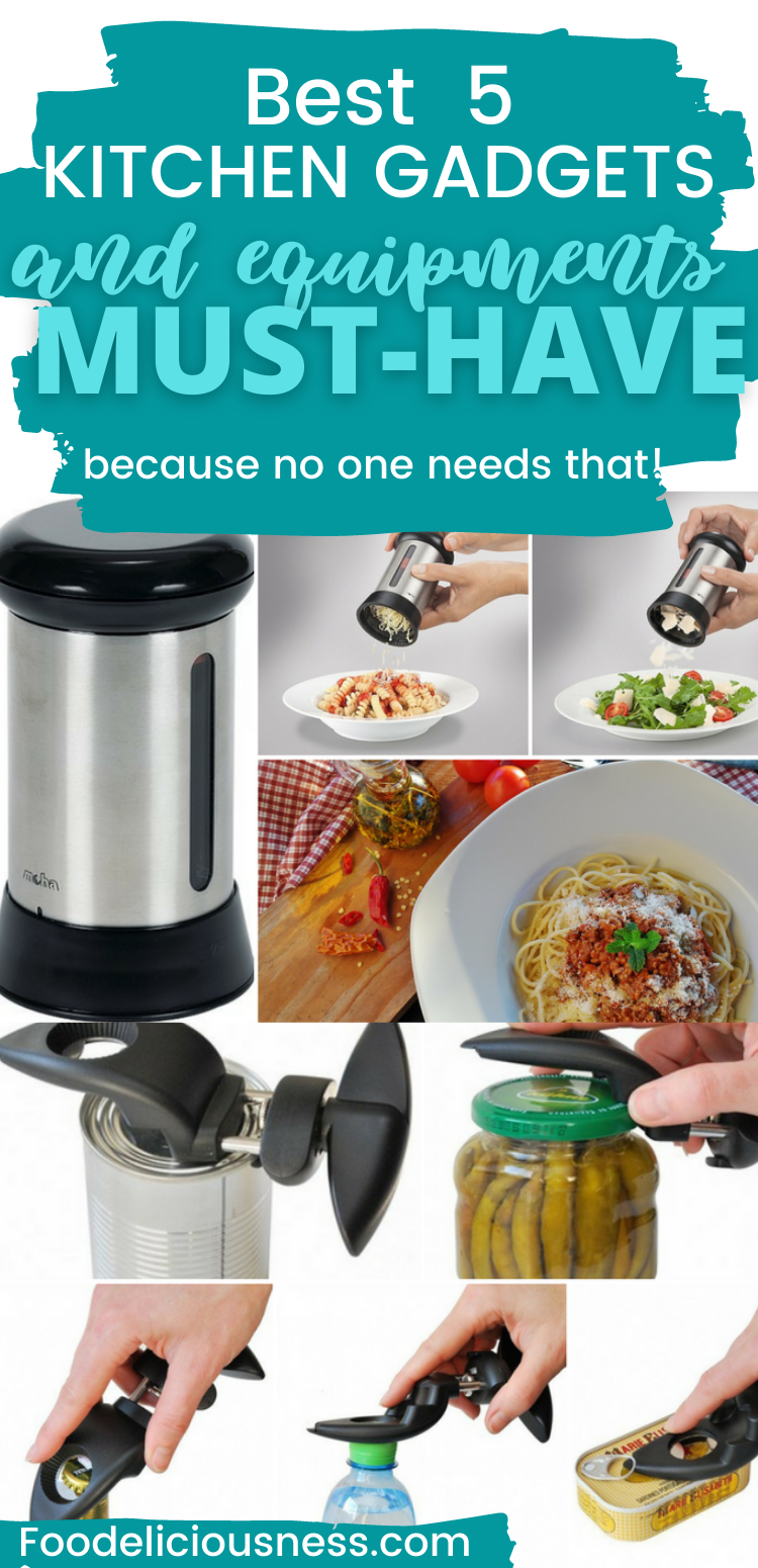 5 Kitchen Gadgets And Equipment You Must Have