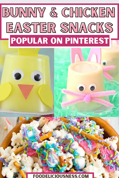 Bunny easter snacks with eggs and chicken – 15 delicious recipes