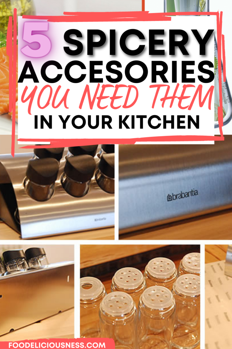 Top 5 spicery accessories you need in the kitchen